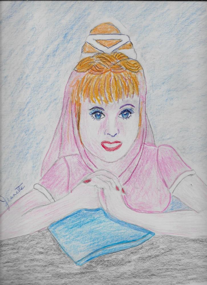 Elizabeth Montgomery por Jeanette